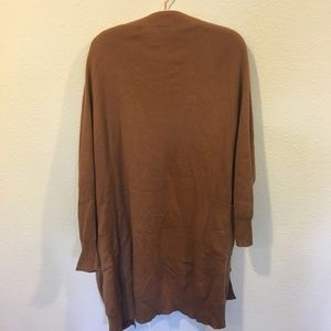 TCEC Sweaters - TCEC brown cardigan sweater